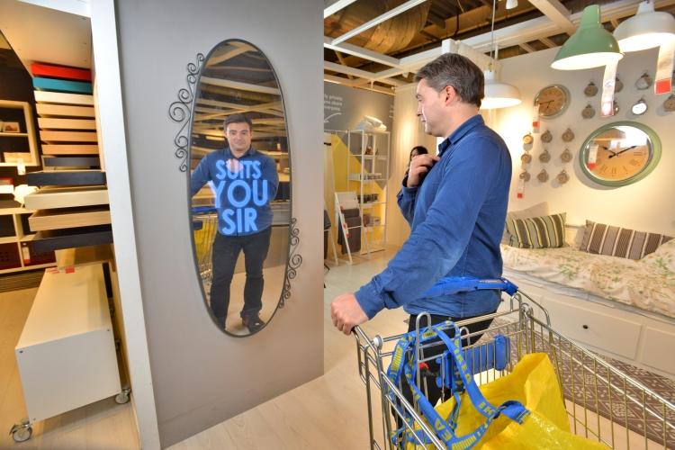 Ikea mirrorHope and Glory