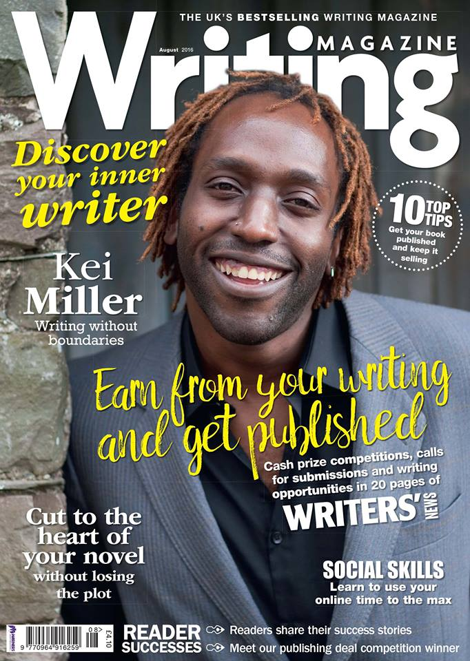 writing magazine cover 2nd article